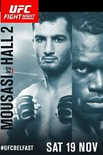 A5 Print – UFC Fight Night 89 Mousasi vs Hall (Picture Poster Art MMA Martial)