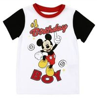Disney Junior Mickey Mouse #1 Birthday Boy  3T or 4T