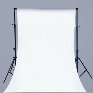 White screen Chroma Key White Screen Fabric For Zoom Stage Background (2M Wide)