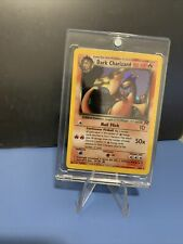 Pokemon PSA 10 Gem Mint Dark Charizard HOLO Team Rocket 1st