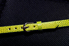 """1/4 scale doll belt 8.5"""" x .25"""" MSD BJD Dollfie Unoa Ellowyne Wilde Green"""
