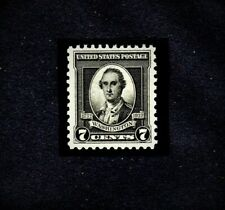 George Washington 7 Cent Stamp, 1732-1932, BLACK Beautiful