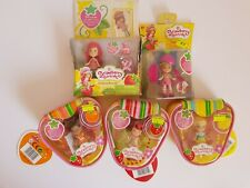 Strawberry Shortcake Mini dolls - Lot of 5 New Playsets by American Greetings