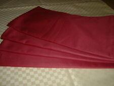 Tischdecke   Läufer  Tischband  Tablecloth rubin glatt  40x135 cm   NEU 2 Stück