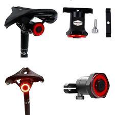Luce Led Bici MTB luce posteriore sensore di movimento avviso di frenata STOP