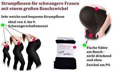 WARME Super bequeme UMSTANDS-STRUMPFHOSE BLICKDICHT Schwangerschaft Strumpfhose