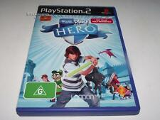 Eye Toy Play: Hero PS2 PAL *Complete* Eyetoy Game