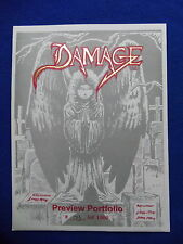 ~~ DAMAGE PRESENTS: BLOODSHED/WASTELANDS PREVIEW PORTFOLIO #173/1000 ~~