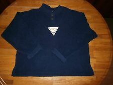 NAVY BLUE TERRY TOP SIZE XL