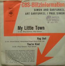 "7"" 1975 EP! SIMON & GARFUNKEL : My Little Town /MINT-?"