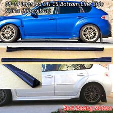 Bottom Line Style Side Skirts (Fiberglass) Fits 08-14 Subaru Impreza 4/5dr
