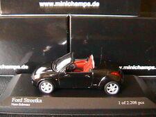 FORD STREET KA 2003 BLACK MINICHAMPS 400086431 1/43 STREETKA NERO SCHWARZ NOIRE