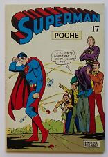 SUPERMAN POCHE 1979 N°17 (COLLECTION SUPER HÉRO) LUG / MARVEL - EO