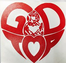 GD&TOP Heart Logo Vinyl Sticker Kpop Big Bang