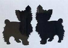 Yorkshire Terrier Vinyl Sticker Cars Animal Camper Dog Vet Yorkie Decal