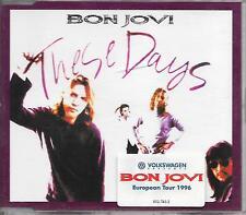 BON JOVI - These days (STICKERED CASE!!) CDM 4TR EU release 1996
