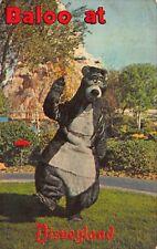 Postcard Baloo The Bear in Fantasyland, Disneyland in Anaheim, California~116798