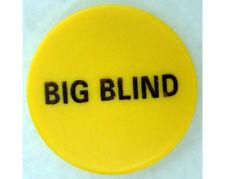 "Big Blind Button 2"" Diameter Ceramic Poker Casino - Lammer"
