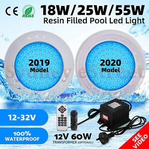 2019/2020 Model Resin Filled Underwater Swimming Pool LED Light RGB Spa Lamp 12V