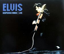 ELVIS PRESLEY - SUSPICIOUS MINDS LIVE CD SINGLE