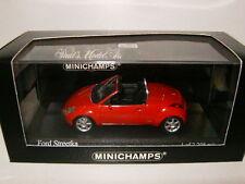 MINICHAMPS Ford KA STREETKA Rouge red rot 2003 ref 400086430 au 1/43