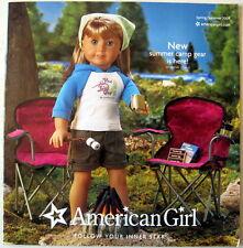 AMERICAN GIRL SPRING/SUMMER 2009 CATALOG CHRISSA SONALI GWEN MOLLY KIT FELICITY