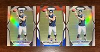 MITCHELL TRUBISKY 2017 PRIZM #209 RC ROOKIE SILVER PRIZM X 2 RED WHITE BLUE LOT
