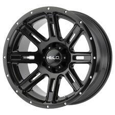 "20"" HELO HE900 Black (HE90029068318) Set of 4 Wheels Rims"