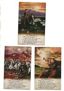 3 Song Cards - The Trumpeter