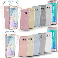Cover Case UltraThin Slim 360 TPU Gel Skin Pouch for Samsung Galaxy S9  S8 Plus
