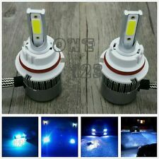 9004 HB1 CREE LED Headlights Bulbs Conversion Kit High Low Beam 8000k ice blue