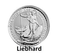 2£ Silber / Silver Großbritannien / UK Britannia 2018 1 OZ ***Vorverkauf***