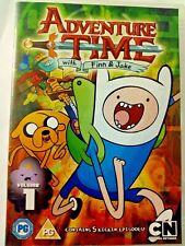 ADVENTURE TIME - VOLUME 1 - DVD - REGION 2 UK