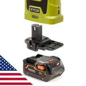 Badaptor Ridgid 18V Battery Adapter to Ryobi 18v One+ Tool