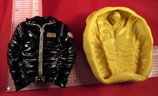 Biker Jacket Flexible Silicone Mold Food Safe Cake Chocolate Resin Clay 228 Soap