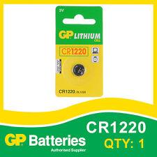 GP Litio Pulsante Batteria Cr1220 (DL1220) card di 1 [ Orologio Calcolatrice & + altre ]
