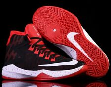 NIB NIKE Mens 10.5 ZOOM DEVOSION 844592 005 BLACK RED BASKETBALL CASUAL SHOE $80