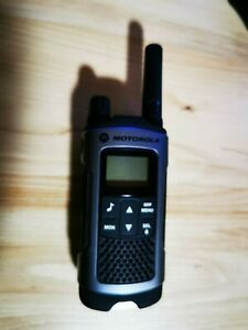 Motorola Funkgerät TLKR T80 extreme grau inklusive Akku und Clip
