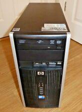 HP 6000 Pro Microtower PC Core 2 Duo 3.16Ghz 4GB 300GB DVD RW Windows 10 Tower