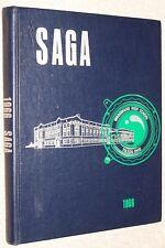 1966 Woodward High School Yearbook Annual Toledo Ohio OH - Saga