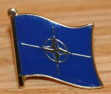 NATO Country Metal Flag Lapel Pin Badge
