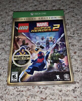 LEGO Marvel Super Heroes 2: Deluxe Edition (Microsoft Xbox One) New Sealed
