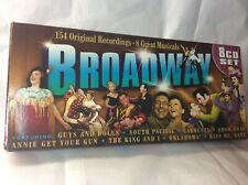 Broadway Musicals 8 CD Boxed Set 154 Original Recordings THE KING & I Show Boat
