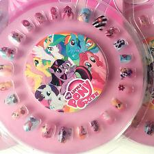 24pcs cute horse Fake Nail With 1 Nail file Kids Girls Hot  Gift False Nails