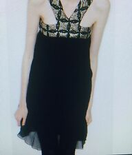 Womens Stunning Black Treasure Dress - Kirrly Johnston - Size 10