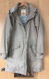 Seasalt Fully Lined North Star Waterproof Coat Size 12 Removable Hood