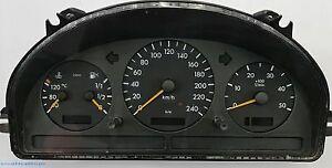 MERCEDES-BENZ ML W163 CUADRO DE INSTRUMENTOS A1635407611 revisado!!!