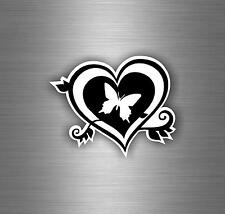 Sticker decal car vinyl jdm bomb tuning butterfly heart wall butterflies r1