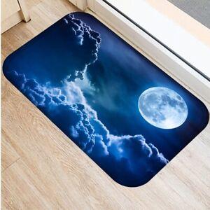 3D Floor Mat Flannel Absorbent Rug Bathroom Kitchen Carpet Mat Entrance Indoor