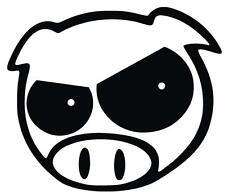ANGRY PIG Car Window Bikes Apple laptops Bumper Sticker Decal Vinyl